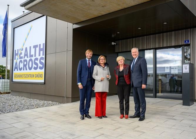 Eröffnung des Grenzüberschreitenden Gesundheitszentrums Gmünd