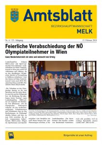 Amtsblatt BH Melk