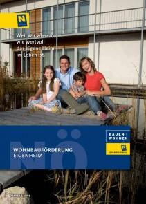 Wohnbauförderung Eigenheim Broschüre