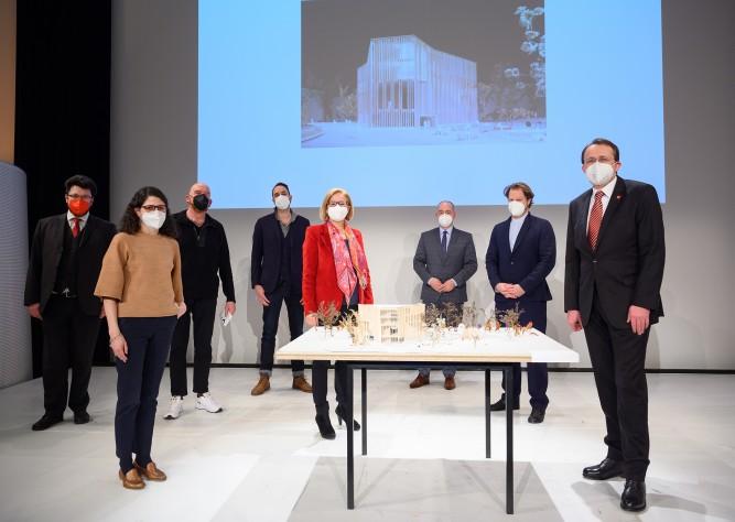 Architekturentwurf des KinderKunstLabors präsentiert